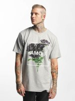 Famous Stars and Straps T-Shirt Life and Death grau