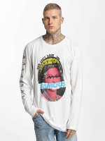 Famous Stars and Straps T-Shirt manches longues God Cant Save blanc