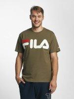 FILA t-shirt Urban Line Classic Logo olijfgroen