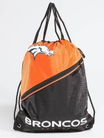 Forever Collectibles Beutel NFL Diagonal Zip Drawstring Broncos schwarz