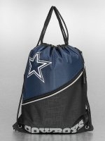 Forever Collectibles Pouch NFL Diagonal Zip Drawstring Dallas Cowboys black