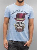 French Kick T-Shirt Olibrius blau
