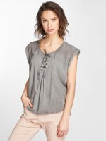 Fresh Made Bluse Susi grau