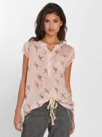 Fresh Made Bluse Birds rosa