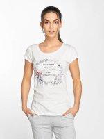 Fresh Made T-Shirt Flower Print weiß