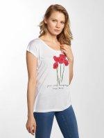 Fresh Made T-Shirt Rose weiß
