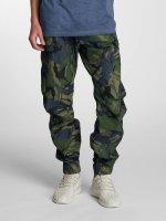G-Star Antifit 3D Cuffed Tapered Jeans blauw