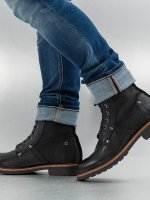 G-Star Footwear Boots Labour Leather black