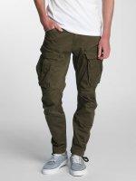 G-Star Spodnie Chino/Cargo Rovic Zip 3D Tapered zielony