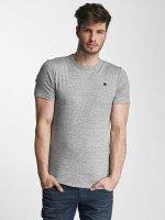 G-Star T-Shirt Unstand Premium Cool Rib grey