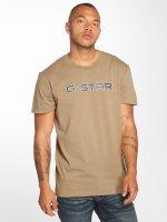 G-Star Tričká Geston béžová