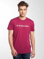 G-Star Tričká Loaq NY Jersey fialová