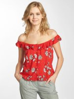 Grace & Mila Tops sans manche Patti rouge