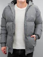 Grimey Wear Puffer Jacket Fire Eater gray