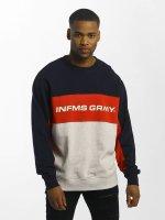Grimey Wear Pullover Outerblow Infamous blau