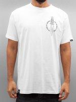 Grimey Wear T-Shirt Ten Stab Wounds weiß