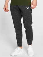 GymCodes Verryttelyhousut Athletic-Fit musta