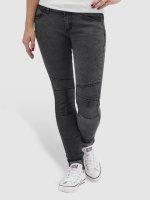 Hailys Skinny Jeans Ines grau
