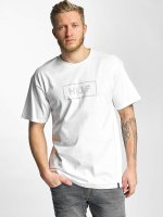 HUF T-Shirt Bar Logo weiß