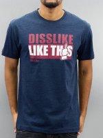 Iriedaily T-Shirt Like This Fitted blau
