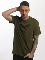 Iriedaily T-Shirt Daily Flag olive