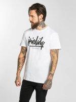 Iriedaily T-Shirt Tagg Ahead weiß