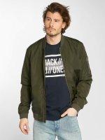 Jack & Jones Куртка-бомбардир jcoGrand оливковый