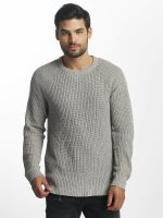 Jack & Jones Пуловер jorPannel серый
