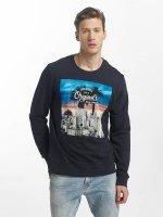 Jack & Jones Пуловер jorWord синий