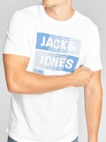 Jack & Jones Camiseta jcoMase blanco