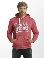 Jack & Jones Hoodie jorPanther röd