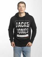 Jack & Jones Hoodie jcoLine svart