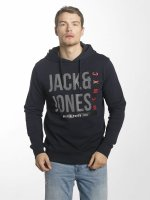 Jack & Jones Hoody jcoLine blau