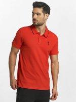 Jack & Jones Koszulki Polo jcoStone czerwony