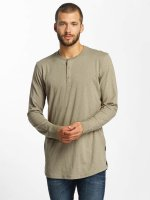 Jack & Jones Longsleeves jorStitch brazowy