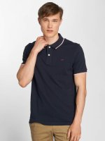 Jack & Jones Poloshirt jjeContrast Stripe blue