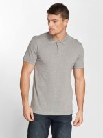 Jack & Jones Poloshirt jjeBasic grau