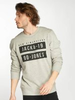 Jack & Jones Pullover jcoBlock grau