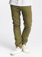 Jack & Jones Slim Fit Jeans jjGlenn Fox AKM 360 olijfgroen