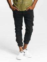 Jack & Jones Slim Fit Jeans jjGlenn Fox AKM 360 schwarz