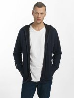 Jack & Jones Sweat capuche zippé jcoAmos bleu