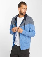 Jack & Jones Sweat capuche zippé jcoChevron bleu