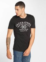 Jack & Jones T-paidat jjeJeans musta