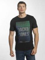 Jack & Jones T-paidat jcoFly musta