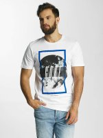 Jack & Jones T-paidat jcoMango Fire valkoinen
