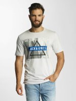 Jack & Jones T-Shirt jcoMango Fire beige