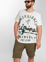Jack & Jones T-Shirt jorBacked blanc
