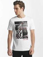 Jack & Jones T-Shirt jcoHunter blanc