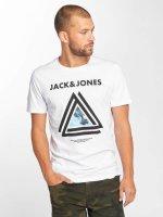 Jack & Jones T-Shirt jcoLax blanc