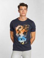 Jack & Jones T-Shirt jorSmokeskull blau
